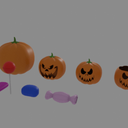 Set Pumpkin