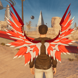 Mech Wings Male Reds