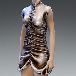 Ruffle Party Dress Andoid V1