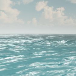 Ocean Water (animated)