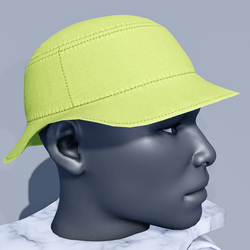 Men Bucket Sun Hat - Green Lime