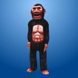 Gorilla Costume (Light Face)