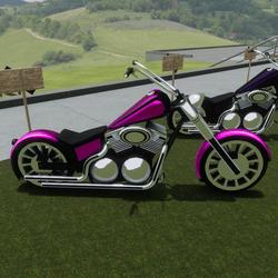 Pink Bike Attachment
