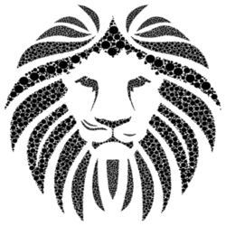 Black Lion Wall Decal