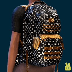 Bunny-vuitton backpack