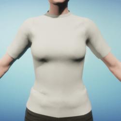 Comfortable Fit Natural Cotton Women's T-Shirt