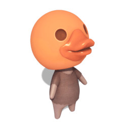 Duck Villager - Orange