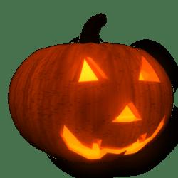 Pumpkin Head Glowing Eyes (Female)