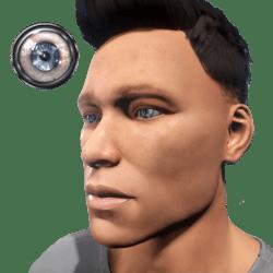 FREE Eyes Blue (Male)
