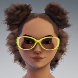 Sunni Glasses AV2 YELLOW WEARALBE DEMO