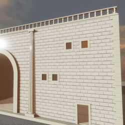 BUILDING TWO FLOORS-ARCH,TERRACE