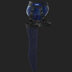 LA FOLLER  BLUE