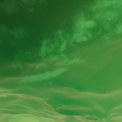 Green Magic Clouds