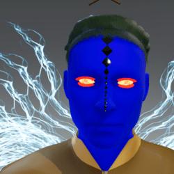 Animated Firey Eyes