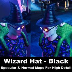 Wizard Hat - Black