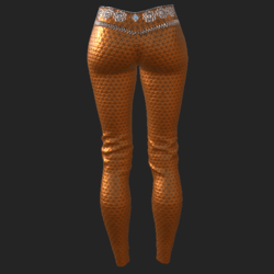 Ucci pants orange
