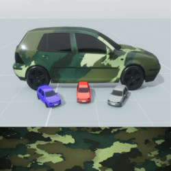 Golf 4 Camouflage