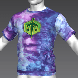 Ready Player One: Gregarious Games T-Shirt Variant (Tiedye) (M)