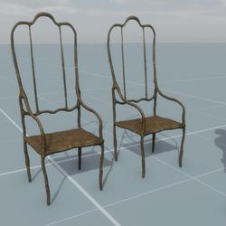 Sculpted Chair