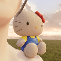 Hello Kitty Shoulder Pet - Unisex