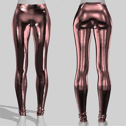 Leggings Maddy Metal Rose