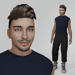 Emanuel - Male Avatar