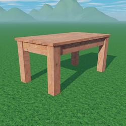 Wood Table 3