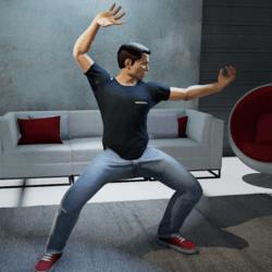 Kung Fu Beckon Gesture (M)