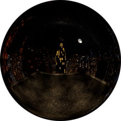 City Rooftop Night Clear Skybox (v2)