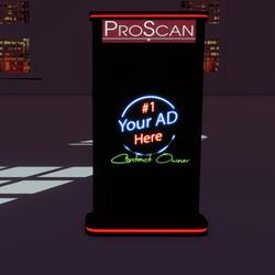 ProScan Ad Kiosk