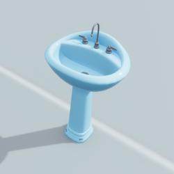 Sink Blue