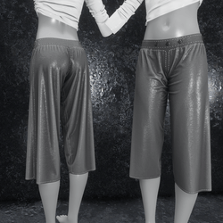 Culottes Leather gray