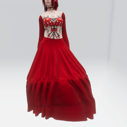 Red Flower Gown (TM)