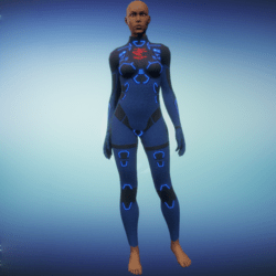 BioArmor ZV01 Body Female Blue