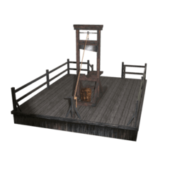 Medieval Style Guillotine