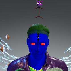 Shooter's Cat Head
