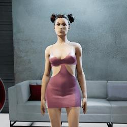 MIA mini dress pink