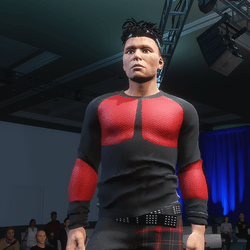 FREE Freak Shirt: Black & Red - Male