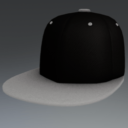 Cap Black & White [MALE]