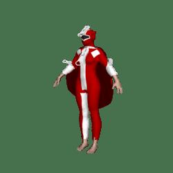zipperwoman red