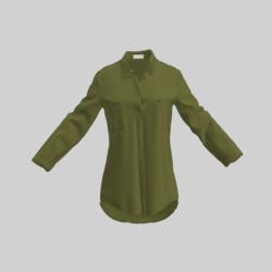 female shirt olive