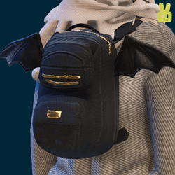 black wing backpack