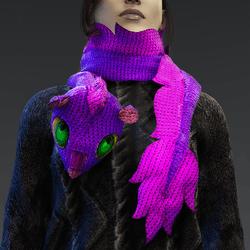 Woolen Dragon Scarf