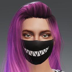 Big Grin Mask