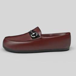 Men's Mocassin Shoes Brown