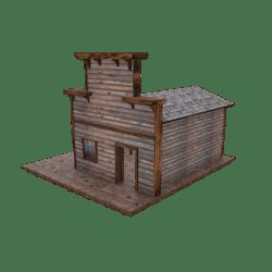 Old Western Shack