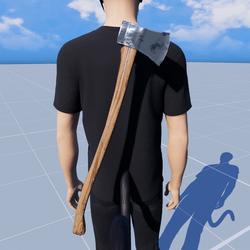 Lumberjack Axe Garment - updated