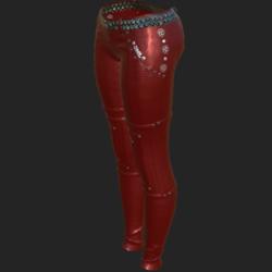 ODARA PANTS RED