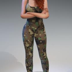 Army Jumpsuit