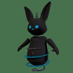 Robo Bunny Blue